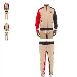 TI Hustle Gang Track Sweat Pants Set Suit